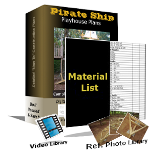 Bundle & Save 10'x6' Plans-Photos-Material List-Videos